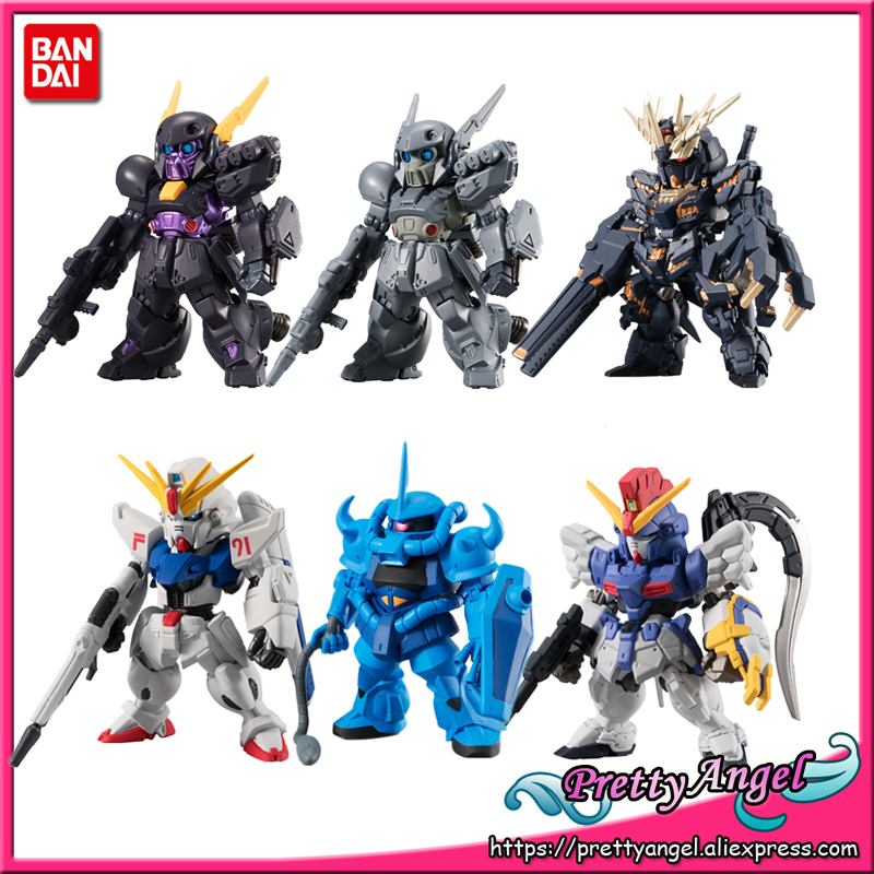 Genuine Bandai Tamashii Nations FW GUNDAM CONVERGE vol 12 Gundam Full set 6 pieces Gundam Gour