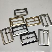 Metal Square belt buckles for shoes bag garment decoration 3 cm 4 colors Belt Buckles DIY Accessory Sewing 10 pcs/lot