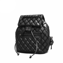 Новый дизайн женские Рюкзак Плед женщины сумку замок дизайн простой мешок отдыха