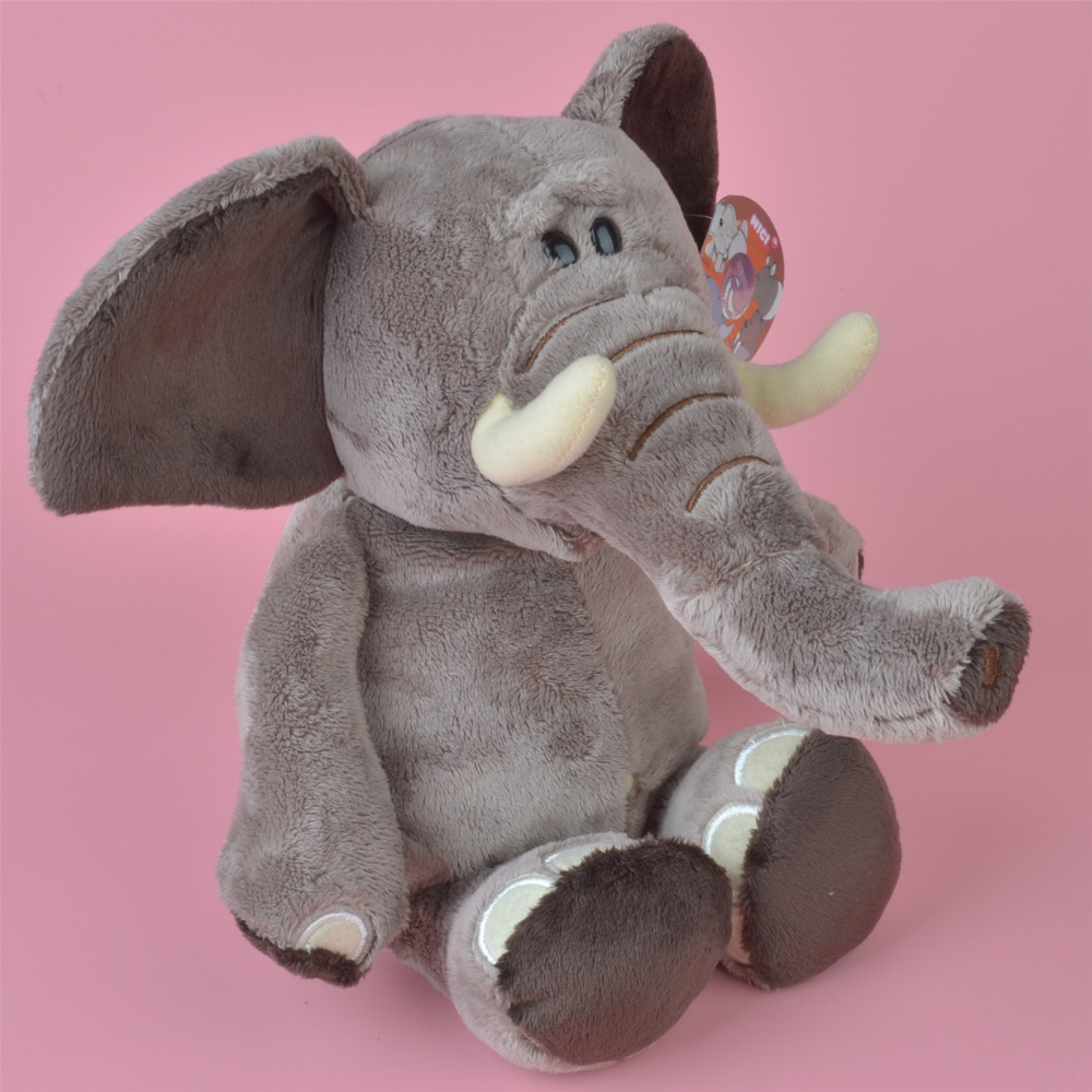 Nici Wild Animal Elephant Plush Toy 35cm Baby Gift Kids