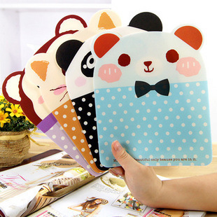 Fashion cartoon animal dot mouse pad pvc mouse pad