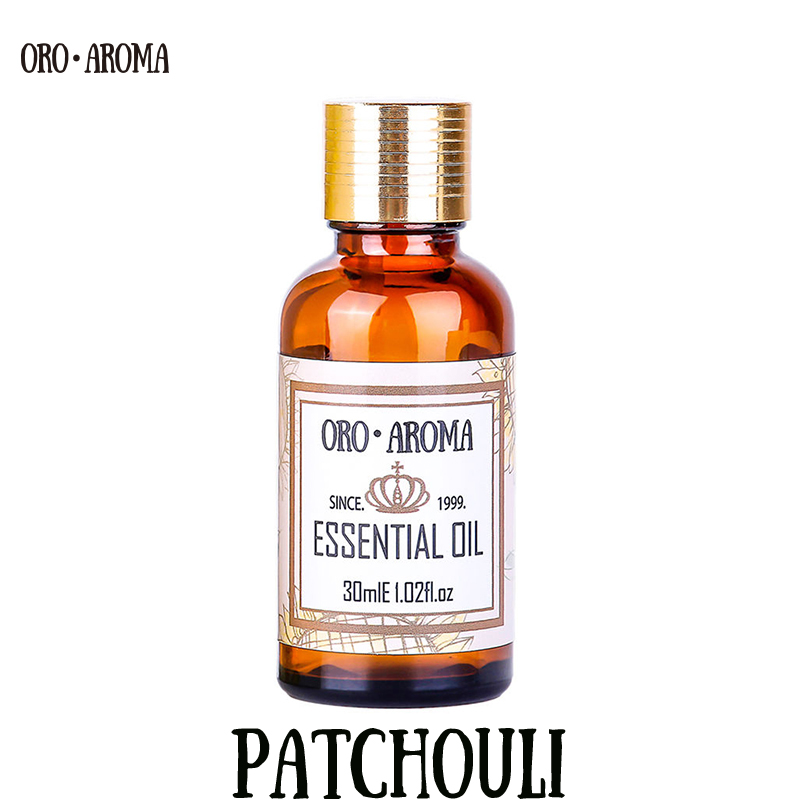 Patchouli ESSENTIAL OIL Famous brand oroaroma NATURAL removal of mosquitoes Eliminate acne relieve eczema calm patchouli OIL famous brand oroaroma free shipping natural musk essential oil relieve the nerve balance mood aphrodisiac musk oil