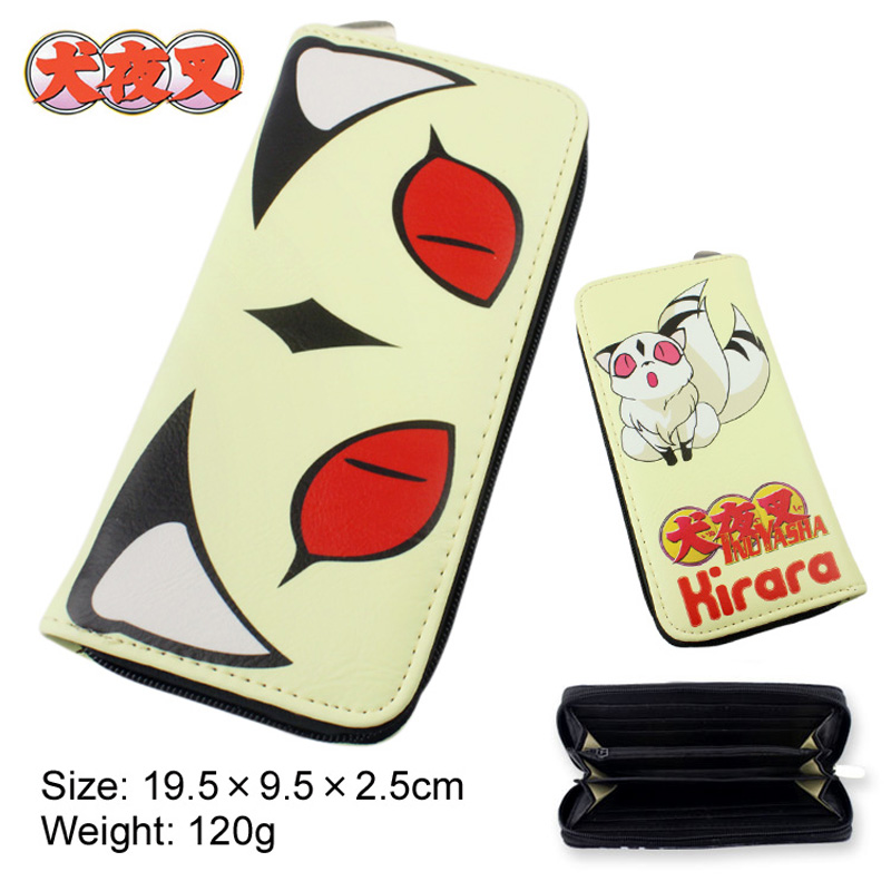 Anime Inuyasha Kirara Multifunction Casual Long Wallet/Cell Phone Clutch Purse/Portable Cash Purse цены