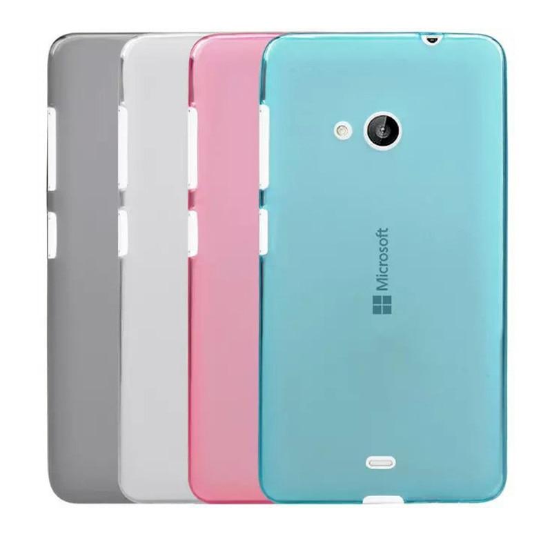 finest selection b5a2e 8a390 Soft TPU Protector Case For Microsoft Lumia 535 Case Silicone 5.0