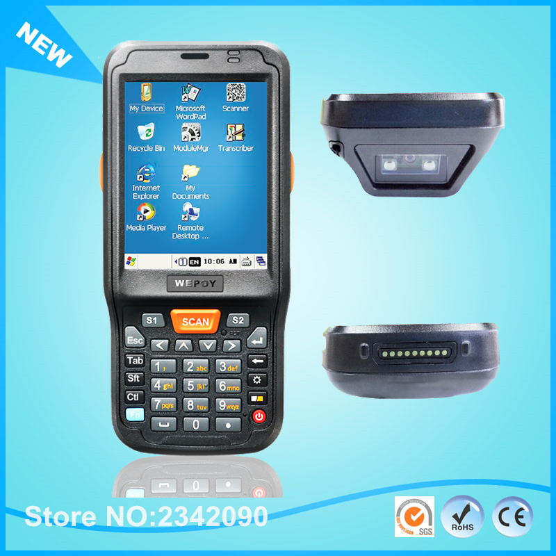 US $386 65 5% OFF|Urovo Windows CE 6 0 OS  1GHz Industrial Handheld Data  Terminal For 1D 2D Barcode Scanner With WIFI Bbluetooth WCDMA GPS RFID-in