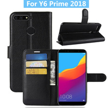 For Huawei y6 prime 2018 Case Cover Flip Leather Phone Case For Huawei Honor 7A Pro/Enjoy 8E Wallet Leather Stand Cover
