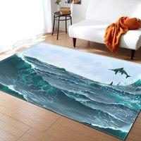 Ancient Dinosaur Pattern Carpets For Large Living Room Kids Bedroom Carpets Decore Non slip Home Great Room Rugs Sofa Floor Mats