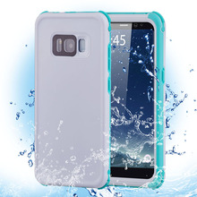 Waterproof Case Cover for Samsung S8 S8 Plus Outdoor Summer Swimming Shockproof Case for Samsung Galaxy S8 S8 Plus цена и фото
