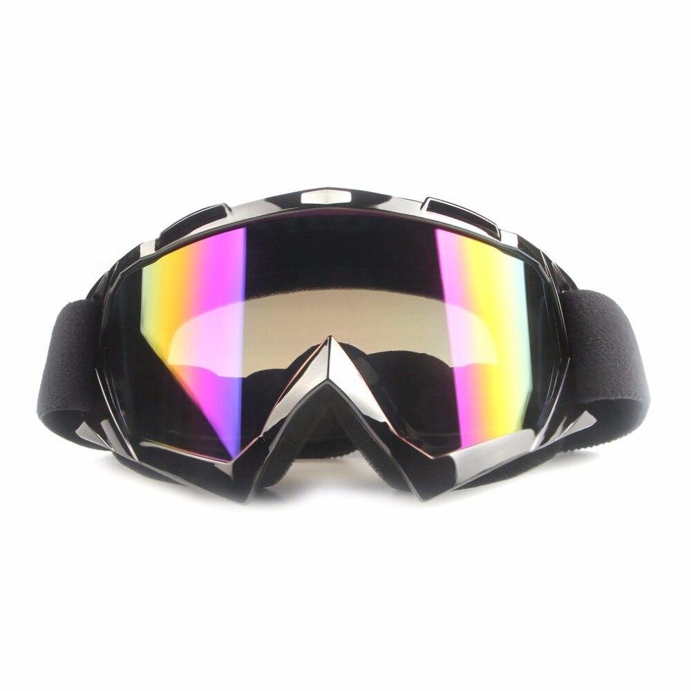 Защитные очки мотоциклетные оборудование внедорожных Ветрозащитный Анти-туман Тактическая очки Лыжный Спорт очки Открытый UV400 защиты
