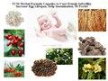 TCM Fórmula Fórmula A Base de Hierbas para Curar La Infertilidad Femenina, aumentar la Vida Útil de Huevo, ayudar a la Inseminación, 50 Unids/lote