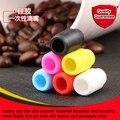 De novo design de alta qualidade cigarro eletrônico 510 pontas de silicone de 6 cores para opcional 100 pcs atacado