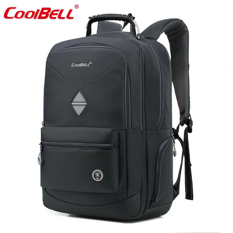 d4987767d1af 18.4 Inch Men Women Backpack Waterproof Shockproof Business Backpack Bag  Portable Laptop Computer Travel Bag D0282