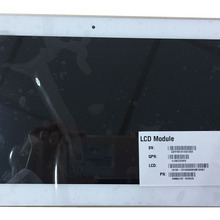 Touch Screen Glass Digitizer Assembly + LCD LED Screen B101EAN01.6 with FRAME For WHITE ASU