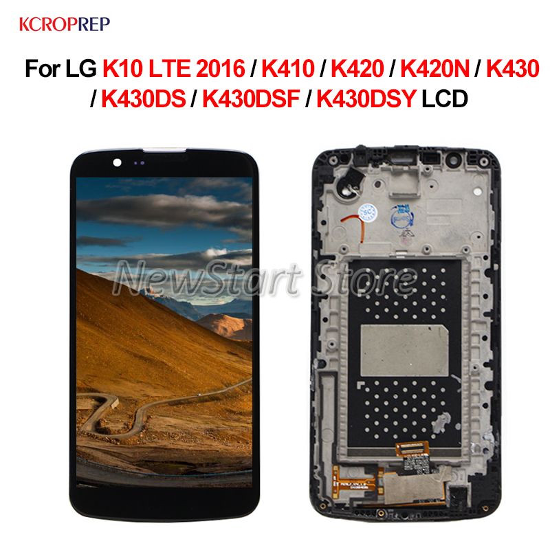 For <font><b>LG</b></font> <font><b>K10</b></font> LTE <font><b>2016</b></font> LCD <font><b>Display</b></font> Touch Screen Assembly 5.3