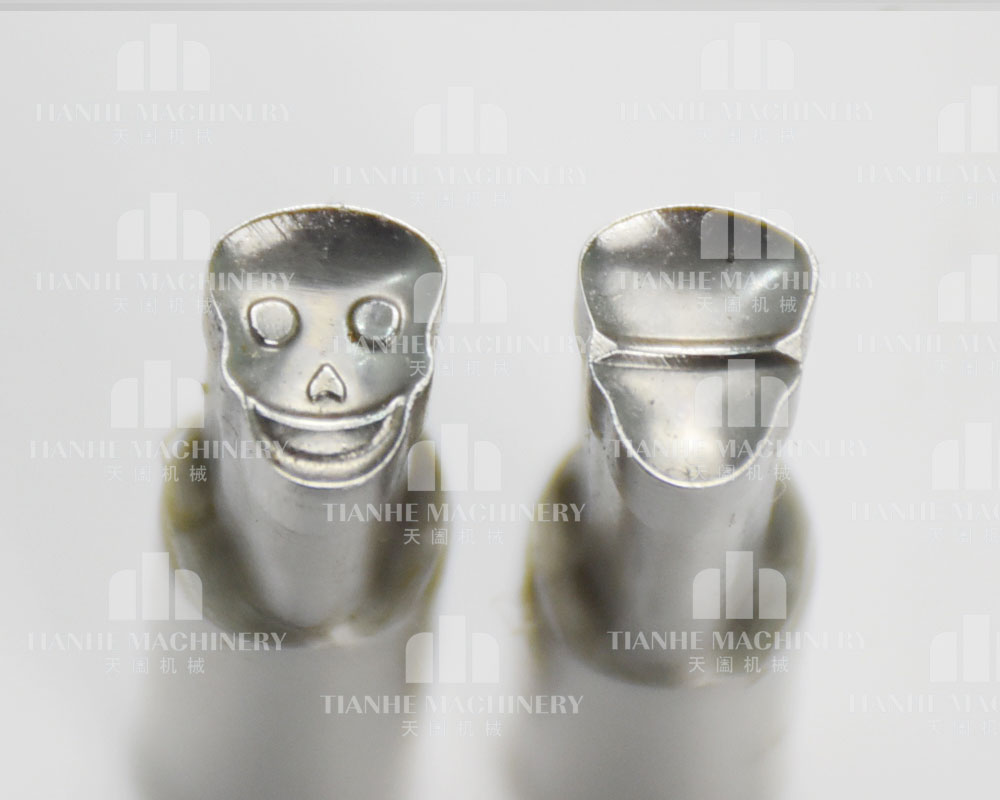 3D Skull shape stamp mould / die set/punch for the single punch tablet press machine TDP0 TDP1.5 TDP5 Candy press machine цена