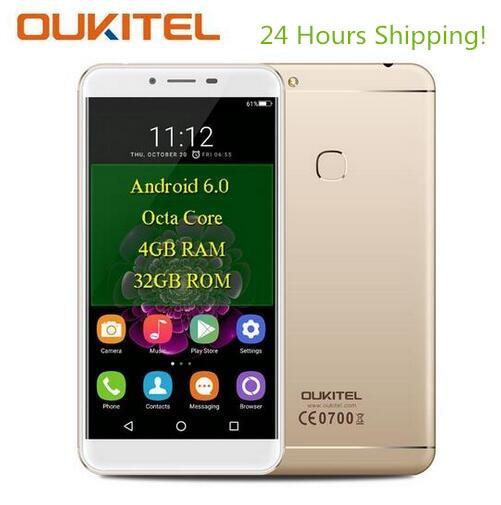 Oukitel U15S 4 г смартфон Android 6.0 MTK6750T Восьмиядерный 4 ГБ + 32 ГБ 16.0MP + 8.0MP отпечатков пальцев 5.5 дюйма IPS 1080 P <font><b>FHD</b></font> мобильного телефона