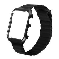 Для apple watch группа 38 мм 42 iWatch серии 3 2 1 нержавеющая сталь браслеты металлический корпус Магнитная бретели для нижнего белья
