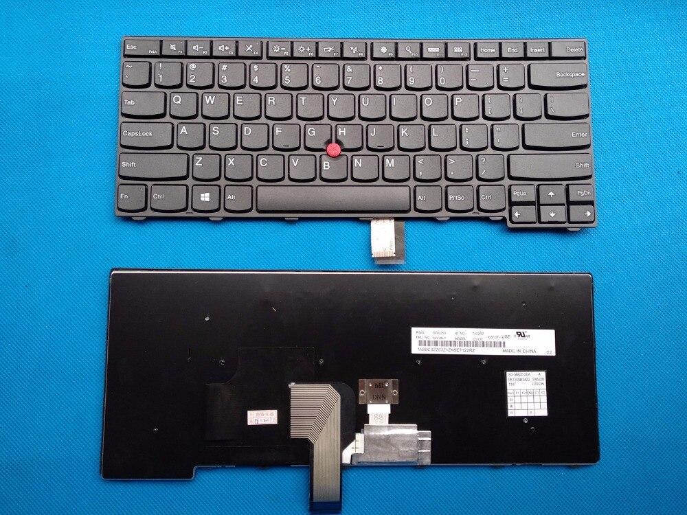 Nouveau Clavier D'ordinateur Portable D'origine Lenovo ThinkPad T431S T440 T440P E431 E440 T440S 04Y2874 04Y0824 04X0101 Anglais clavier