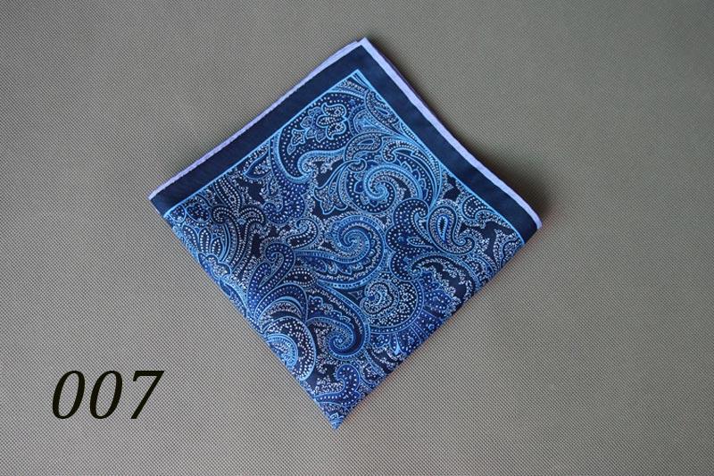 34 x 34 CM Man Paisley Flower Dot Pocket Square men/'s Suit Big Size Handkerchief