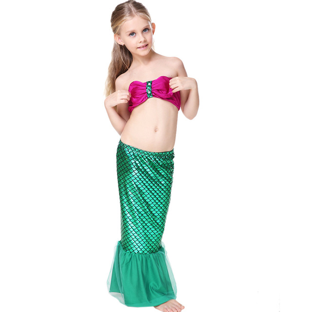Child Mermaid Tail Costume Princess Ariel The Little Mermaid Costume For Girl Halloween Costume Kids Dress  sc 1 st  AliExpress.com & Child Mermaid Tail Costume Princess Ariel The Little Mermaid Costume ...