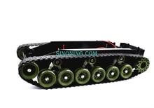Демпфирование баланс Танк Робот Шасси Платформы высокой мощности Дистанционного Управления DIY crawle SINONING
