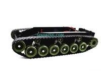 Giảm xóc cân bằng xe tăng robot chassis nền tảng cao điều khiển từ xa diy crawle sinoning