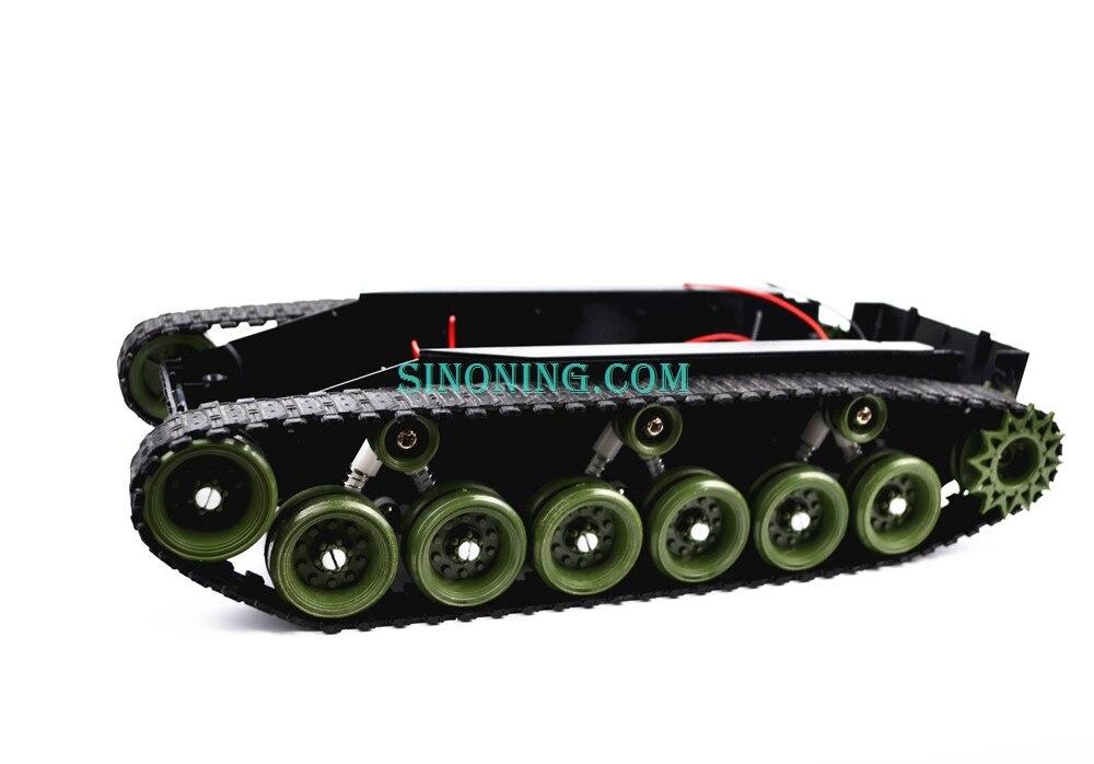 Plataforma del chasis del Robot del tanque del balance de amortiguación de alta potencia de Control remoto DIY crawle SINONING