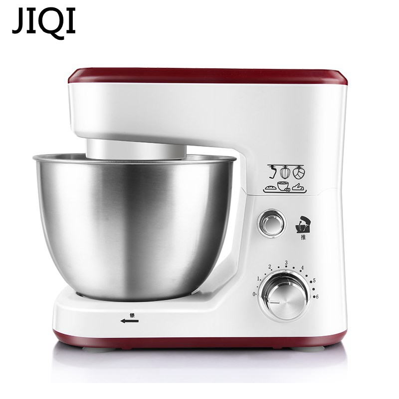 JIQI Electric household Stand Mixers cake dough bread mixer machine 600W Food mixer commercial dough mixer for sale cake dough mixer wheat dough mixer machine dough mixer cake machine