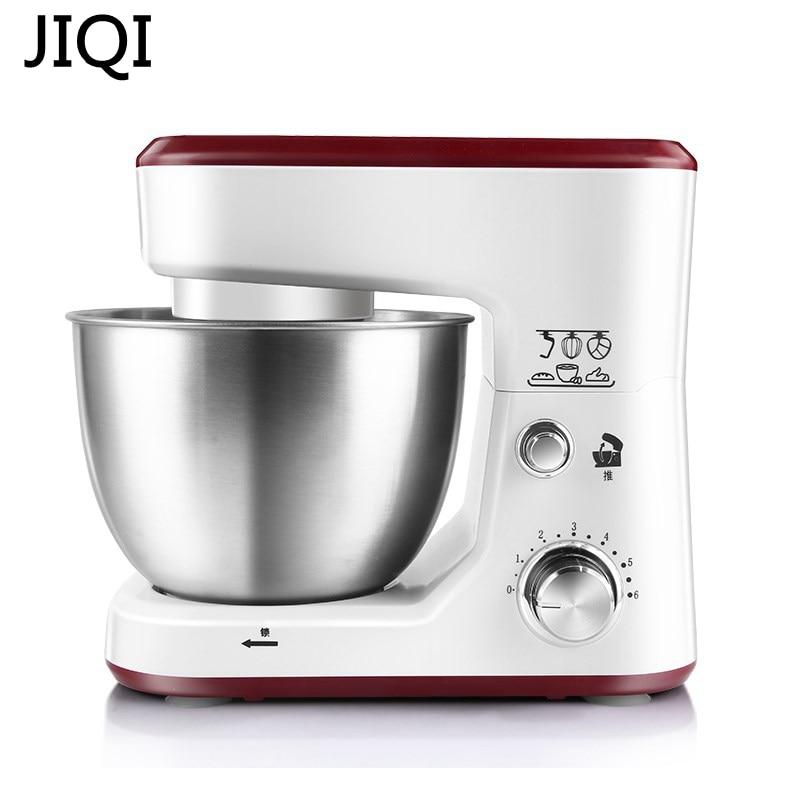 JIQI Electric household Stand Mixers cake dough bread mixer machine 600W Food mixer multifunctional food stand mixer 7l food mixer machine dough mixer machine planetary mixer