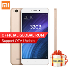 Original Xiaomi Redmi 4A Pro Smartphone 2GB RAM 32GB ROM Snapdragon 425 Quad Core 13.0MP Camera 4G FDD LTE MIUI 8.1 OTA Update