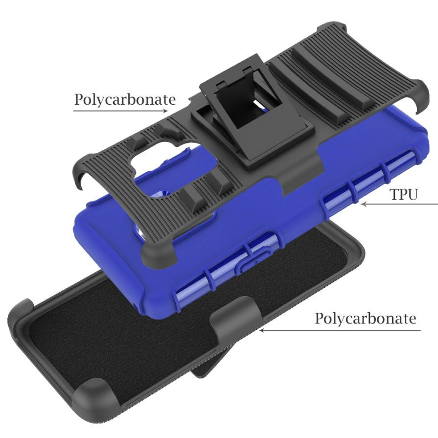 Hybrid Phone Case Kickstand Holster Belt Clip Cover For Samsung Galaxy S9 5.8in Dropshipping Mar 29