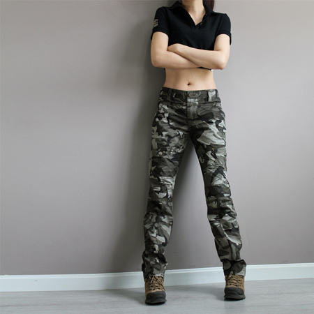 New Fashion plus size camouflage trousers camo pants for ...