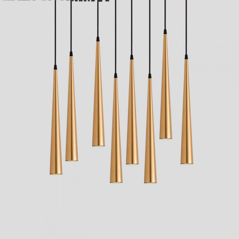 Nordic  Kitchen Pendant Lamp Creative decoration of LED minimalist Lights Modern Bedroom Light Fixtures