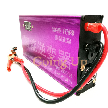 New 13-tube multi-function intelligent inverter 12v electronic boost converter