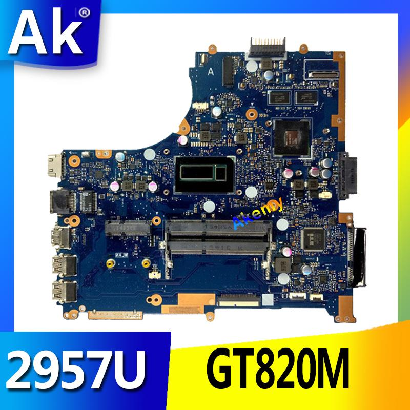 AK PU551LD Laptop motherboard For ASUS PRO551L PU551LD PU551LA PU551L P551L Mainboard test ok 2957U REV2.0 GT820MAK PU551LD Laptop motherboard For ASUS PRO551L PU551LD PU551LA PU551L P551L Mainboard test ok 2957U REV2.0 GT820M