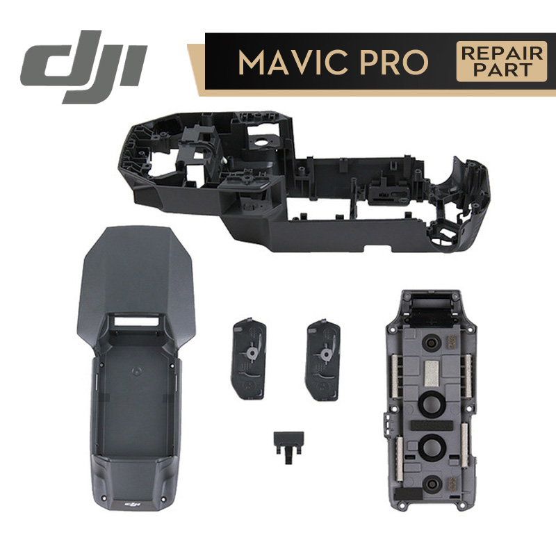 DJI Mavic Pro Parts Body Shell Upper Middle Frame Bottom Shell for Mavic Pro Original Accessories dji phantom 4 pro body upper shell middle shell landing gear for phontom4 pro housing original accessories parts