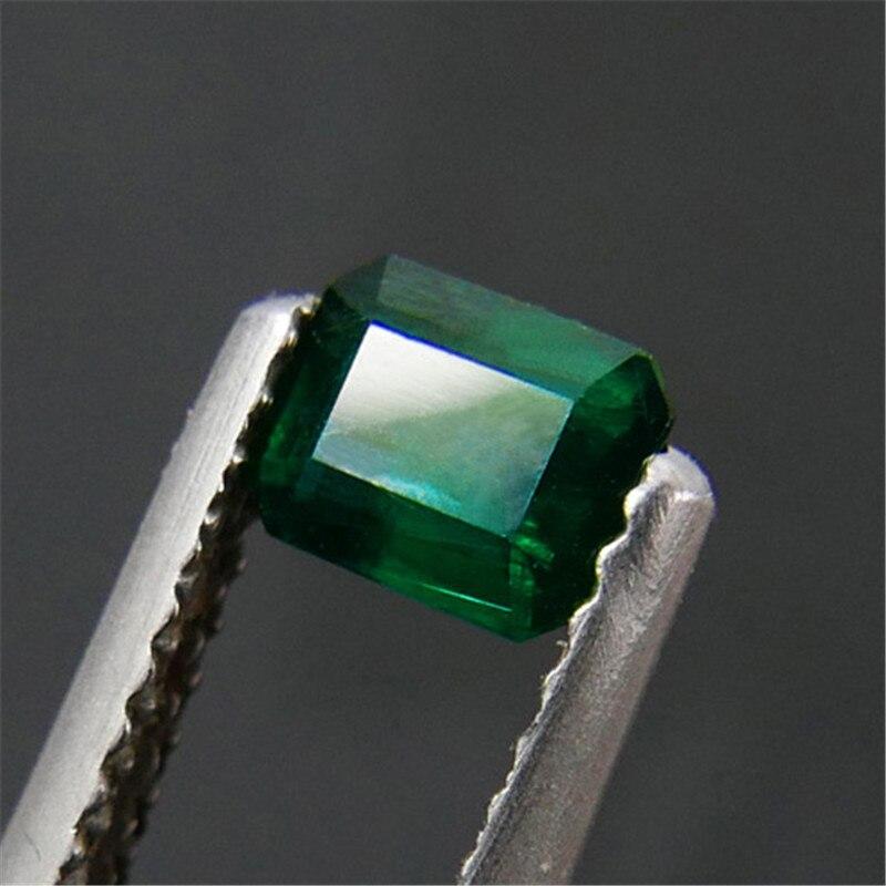 0,475 Carat Natürliche Smaragd Losen Stein Lebendige Grüne Ngtc Zertifikat Bare Stein Oberfläche Um Sowohl Die QualitäT Der ZäHigkeit Als Auch Der HäRte Zu Haben