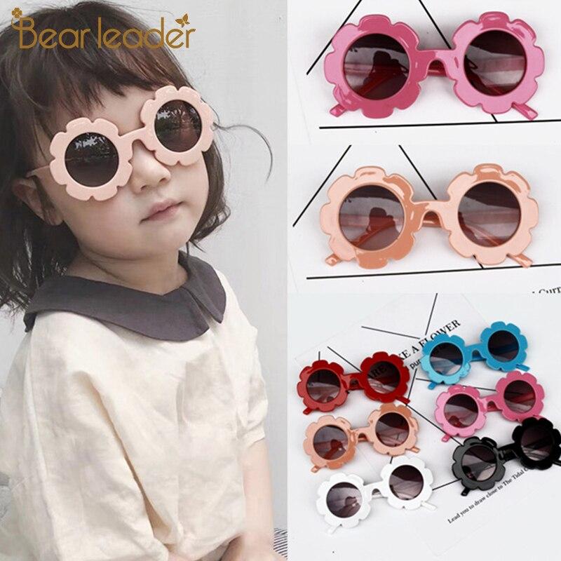 Bear Leader Kids Sunglasses Child Sun Glasses Round Flower Gafas Baby Children UV400 Sport Sunglasses Girls Boys Oculos De Sol