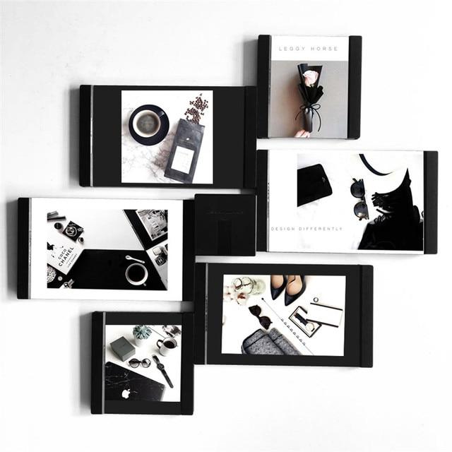 Multi frame Picture Frames White Photo Frames Home Decor Transparent ...
