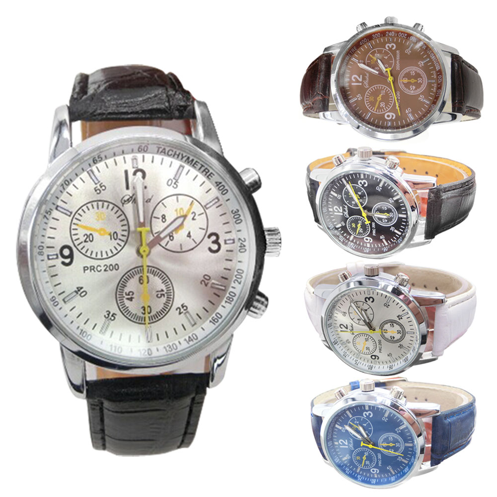 Top Quality Luxury Brand Watch Fashion Sport Watches Military Watches Men Hour Leather Band Quartz Watch Relogio Masculino TT@88 casio watch new fashion top brand luxury watches men quartz watch high quality handsome 100% original relogio masculino mtp 1384