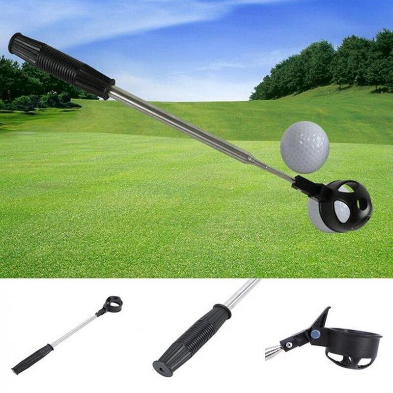 חיצוני ספורט 1 * נשלף סקופ טלסקופי כדור גולף רטריבר להרים פלדה שומר פיר כלי גולף רכבת כלים