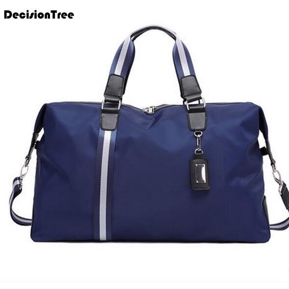 Sac de voyage de mode grande capacité hommes bagages à main voyage sacs de voyage en Nylon sacs de week-end imperméables sacs de voyage multifonctions