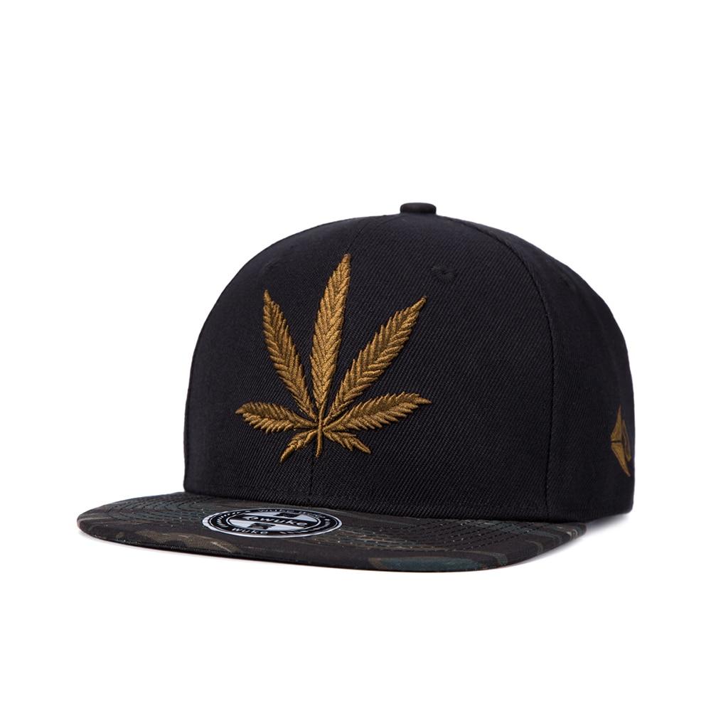 WUKE Cotton Gorras Planas Snapback Dad Hats Sun Visor Baseball Cap Weed  Flat Eave Hip Hop Hats Panel Breathable Sweat-absorbent a03f0638b61