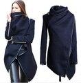 2017 Mulheres Trench Coats Longo Cashmere Casacos Trench Jaquetas Casacos De Lã Mulher Fur Manteau Abrigos Mujer