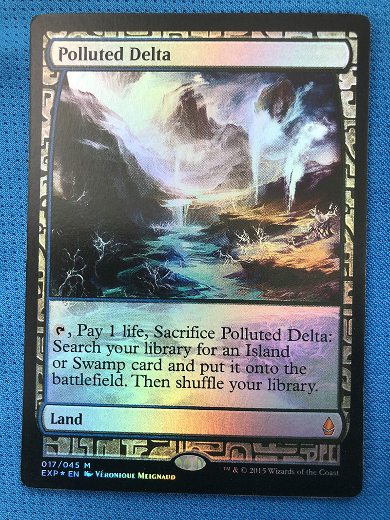 Polluted Delta Zendikar Expeditions Foil Magician ProxyKing 8.0 VIP The Proxy Cards To Gathering Every Single Mg Card.