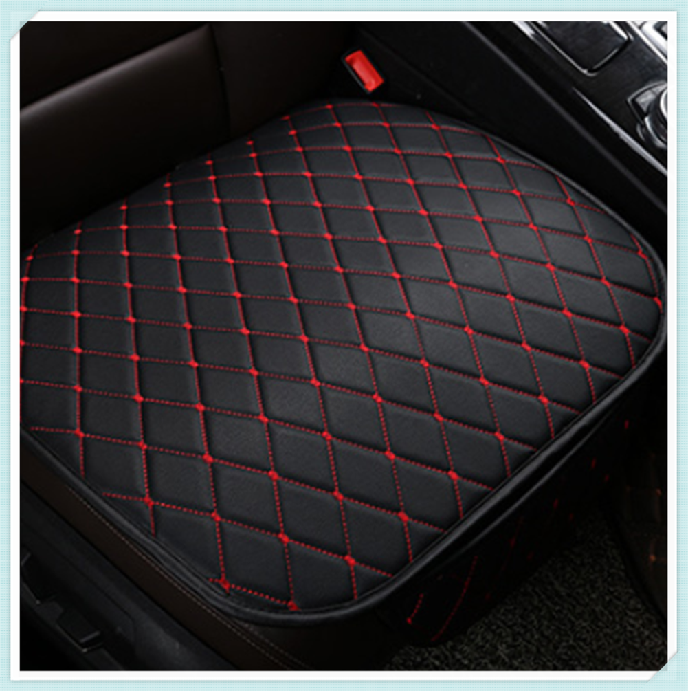 Universal leather car <font><b>seat</b></font> cushion protection pad interior accessories for <font><b>Mercedes</b></font> <font><b>Benz</b></font> W212 W220 W205 W201 A B C E S Class <font><b>GLA</b></font> image