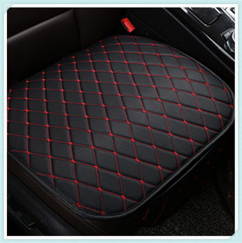 Universal leather car seat cushion protection pad interior accessories for Mercedes Benz W212 W220 W205 W201 A B C E S Class GLA image