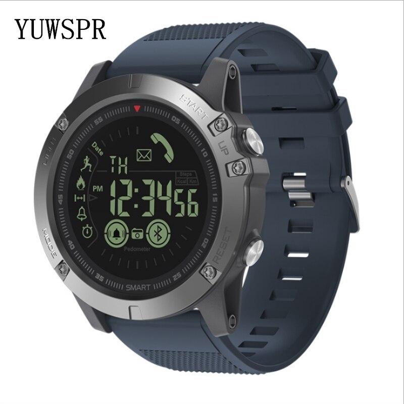 Hommes montre bracelet athlète 33 mois veille 24h tous temps surveillance sport bracelet IOS Android VIBE3 - 2