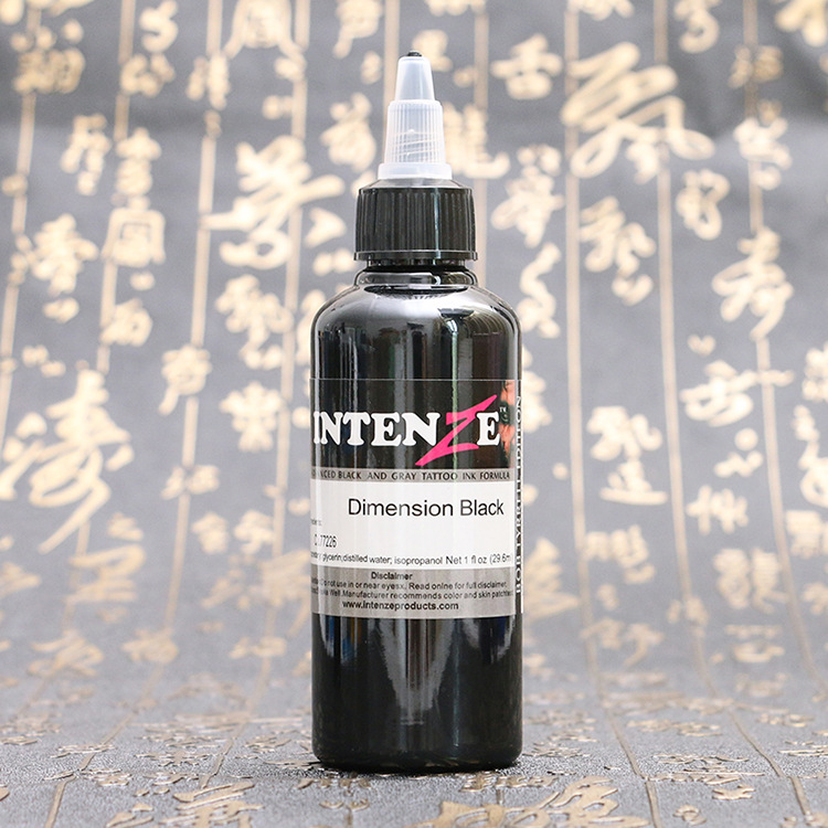 1 Bottle Tattoo Ink Pigment Set Kits Body Arts 100ml black Professinal Beauty Permanent Makesup Paints in Tattoo Inks from Beauty Health