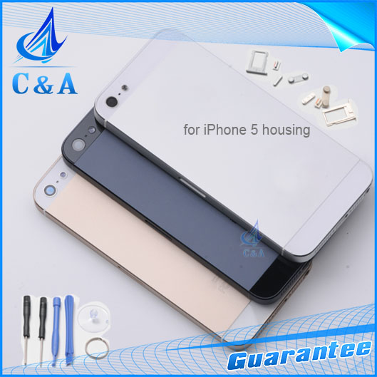 1 piece free shipping new replacement parts for iphone 5 5g back font b housing b